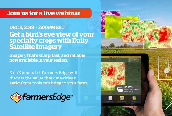 Webinar - Get a bird's eye view of your specialty crops!